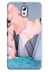 IndiaRangDe Case For Lenovo Vibe P1m Printed Back Cover