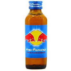 Energy Drink Red Bull or Kratingdaeng From Thailand Original 150ml.