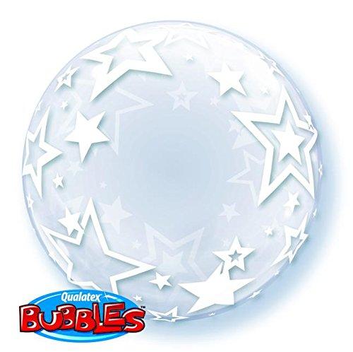 "PIONEER BALLOON COMPANY Stylish Stars Bubble, 24"""