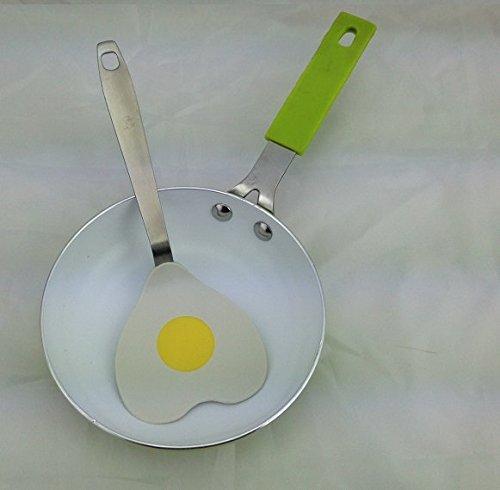 Poele individuelle ceramique diam 14 cm + Spatule