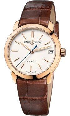 Ulysse Nardin Watch 31mm 18K rose gold case