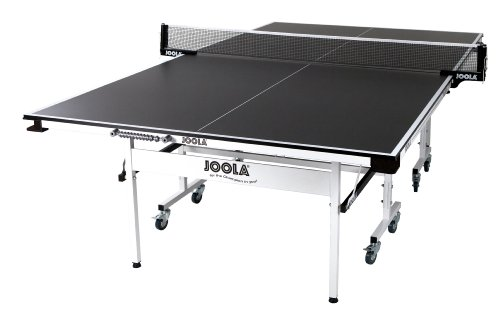 Rally TL 300 Table Tennis Table with Corner Ball Holders and Magnetic Scorers