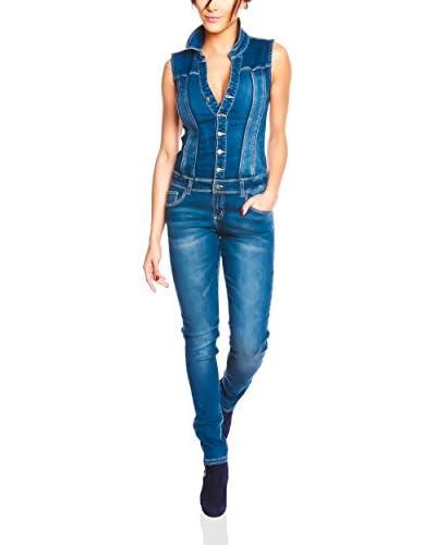 ZZ_Saint Germain Overall Ingrid blau