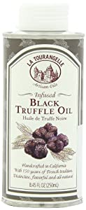 La Tourangelle Infused Black Truffle Oil, 8.45-Ounce Tins (Pack of 2)