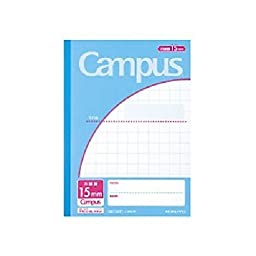 Campus Notes by application semi B5 15mm grid ruled 30sheets 30S15 51175405