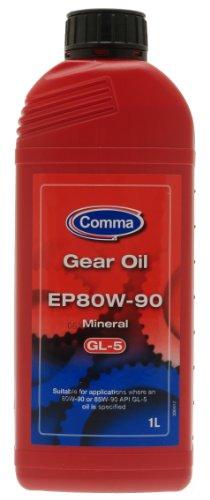 Comma EP80901L EP80W-90 1L GL5 Gear Oil