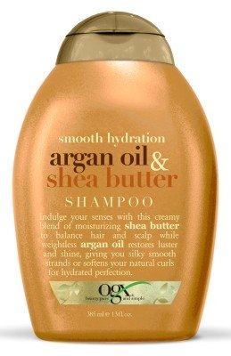 OGX Shampoo, Smooth Hydration Argan Oil & Shea Butter, 13 oz
