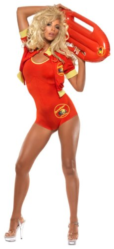 Smiffy's Women's Baywatch All In One Bodysuit