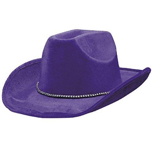 Purple Cowboy Hat - 1