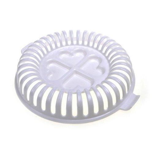 Plateau Cuit Chips Blanc Micro-ondes, Des Chips minutes croustillantes sans gras