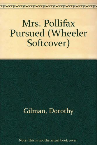Mrs. Pollifax Pursued (Wheeler Softcover)
