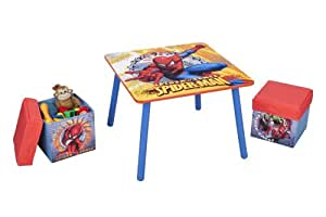 Delta Enterprise Spiderman Table and Ottoman