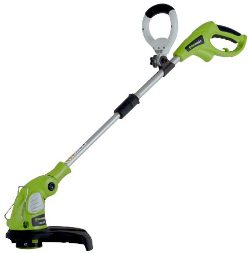 Greenworks 5.5 Amp Electric String Trimmer/Edger Weed Lawn Duty FREE