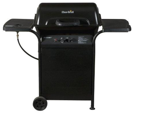 Char-Broil 2-Burner Gas Grill With Side Burner
