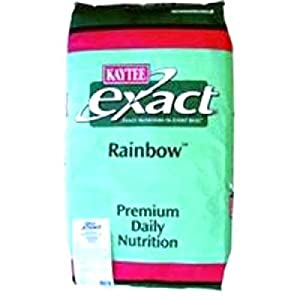 Kaytee Pet Products BKT50301 Exact Rainbow Cockatiel Premium Daily Diet, 25-Pound