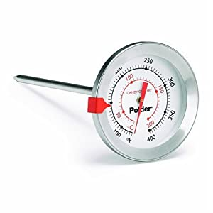 Polder 511 Candy/Deep Fry Thermometer, Stainless Steel