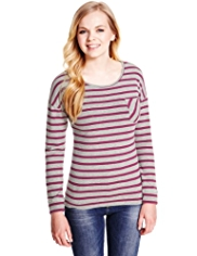 Angel Cotton Rich Striped T-Shirt