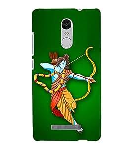Bhagwan Ram 3D Hard Polycarbonate Designer Back Case Cover for Xiaomi Redmi Note 3 :: Xiaomi Redmi Note 3 Pro :: Xiaomi Redmi Note 3 MediaTek