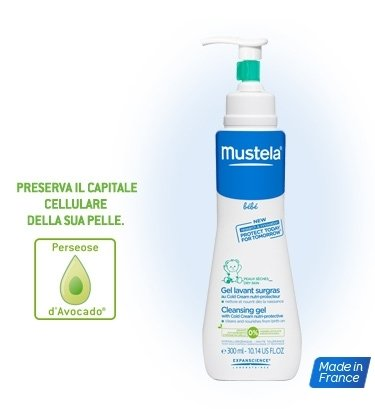 Mustela Baby Gel Lavante Alla Cold Cream Nutri Protettiva 300ml