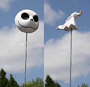 : Nightmare Before Christmas Jack Skellington and Zero Antenna Topper ...