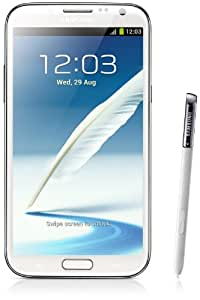 Samsung Galaxy Note II N7100 Smartphone 16GB (14 cm (5,5 Zoll) AMOLED-Touchscreen, Quad-core, 1,6GHz, 8 Megapixel Kamera, Android 4.1) marble-weiß