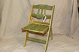 Child's Folding Bamboo Chair from Symphony Products