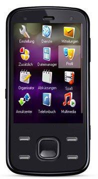 Dual Sim Mobil Telefon Handy in Schwarz 7,1 cm ( 2,8 Zoll ) Touchscreen + Gratis 30 Euro Mega Pack (Touchscreen, Kamera, Video, MP3-Player, Bluetooth) ohne Vertrag, ohne Branding, kein Simlock, Dual Sim ( Zwei SIMKARTEN Parallelbetrieb )