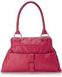 Baggit Webster Tarzen Women's Shoulder Bag Handbag (Pink)