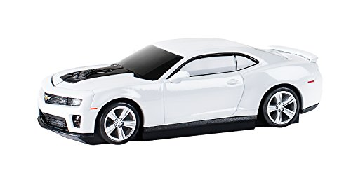 AutoMouse Chevrolet Camaro ZL 1 Car Wireless Laser Computer Mouse, White (Mouse Camaro compare prices)