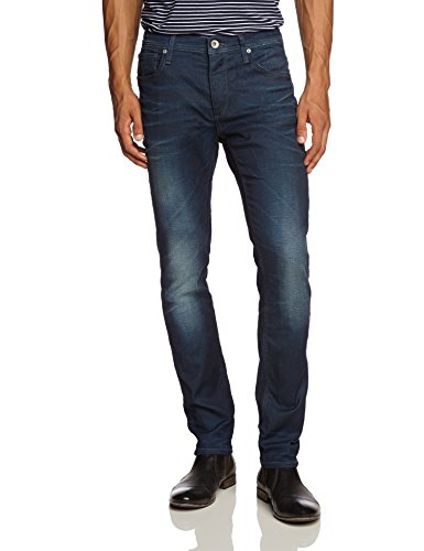 SELECTED HOMME - One 4171 Jeans Noos I, Jeans da uomo, Dark Blue Denim none, 46 IT (32W/34L)