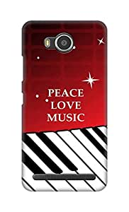 SWAG my CASE Printed Back Cover for Lenovo A7700