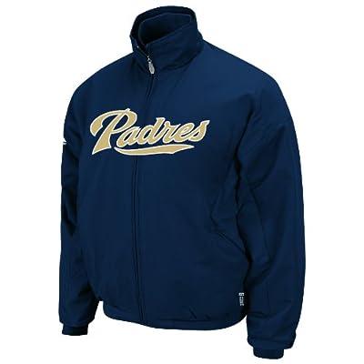 MLB San Diego Padres Triple Peak Premier Navy Long Sleeve Full Zip Insulated Youth Jacket, Navy