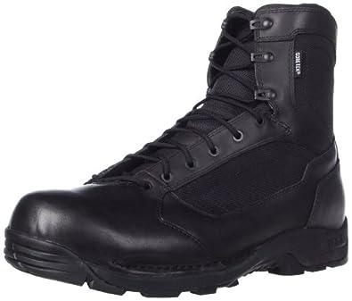 """Danner Men's Striker Torrent 6"""" Side Zip Work Boot,Black,3 D US"""