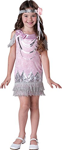 girls - Fancy Flapper Kids Costume 4 Halloween Costume - Child 4