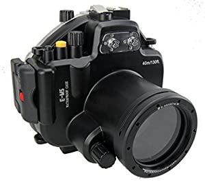 Polaroid SLR Dive Rated Waterproof Underwater Housing Case For The Olympus EM5 Camera with a 12-50mm Lens