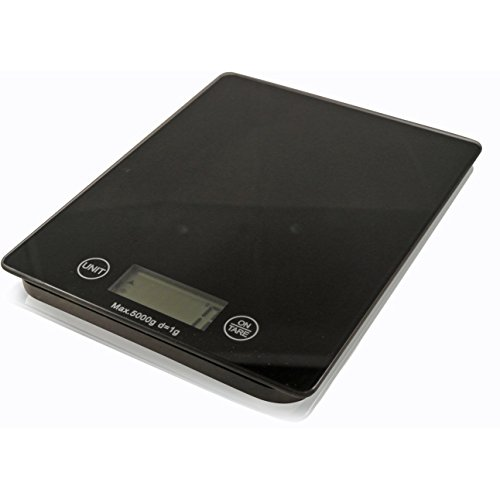 Balance De Cuisine En Verre Mince Numérique LCD Électronique Postale Alimentaire 5kg by TARGARIAN