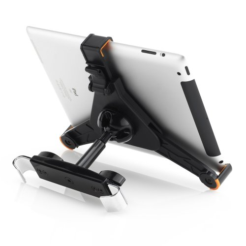 deleyCON Universal Tablet Auto/KFZ Halterung für die Kopfstütze - iPad / Galaxy Tab usw - von 8,6 bis 10,1 Zoll