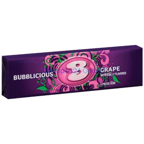 bubblicious-grape-5-piece-40g