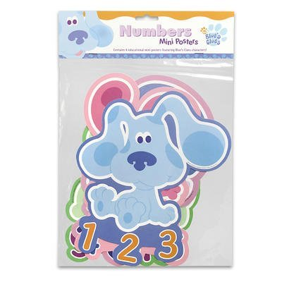 Blue's Clues Mini Posters Numbers (4 Count) (Blues Clues Numbers compare prices)