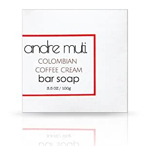 Colombian Coffee Soap Bar By Andre Muti.