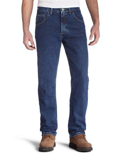 Wrangler Regular Fit Jeans, Dark Denim, 34W x 30L