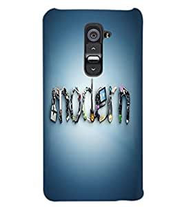 LG G2 MODERN Back Cover by PRINTSWAG