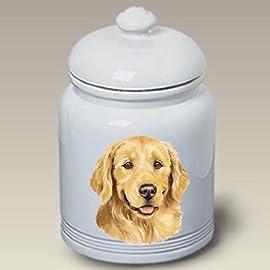 Golden Retriever Dog - Linda Picken Treat Jar