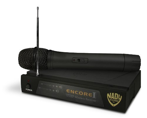 Nady Encore1-Ht N 1-Channel Vhf Wireless Microphone System With Hand-Held Mic