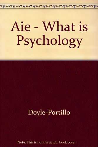 Aie - What is Psychology