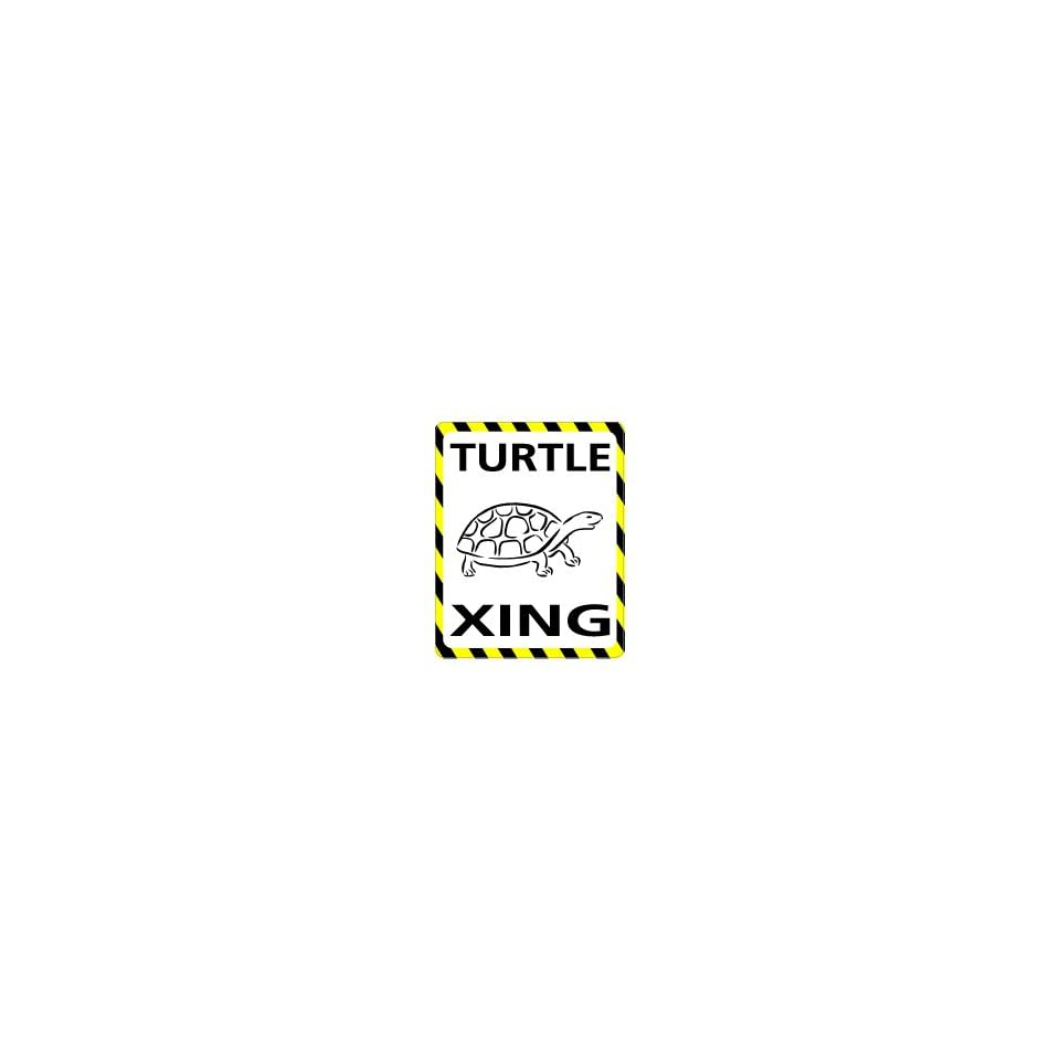 TURTLE Crossing   Window Bumper Laptop Sticker Automotive