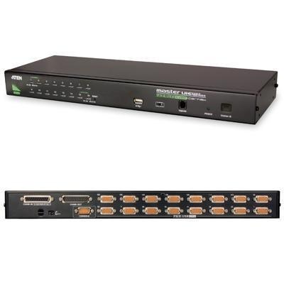 16 Port PS/2 USB KVM-CS1716A
