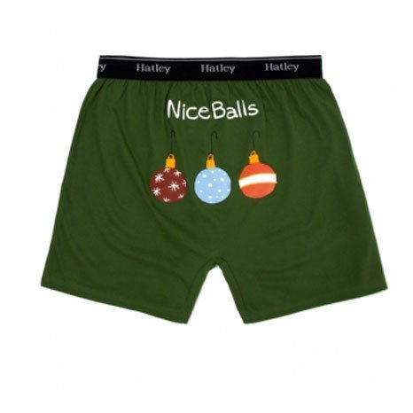 Christmas Boxer Shorts. Ode to Christmas Boxers for Men Whether it's Santa-a-smiling or funny styles he's eying, tons of smiles you'll be supplying when you buy Christmas boxers for men.