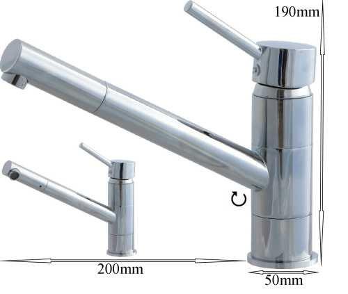 Küchen Spültisch Waschtisch Waschbecken Armatur chrom 8235-900