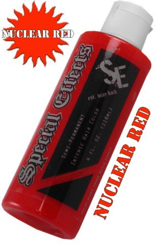 Special Effects Hair Dye -Nuclear Red #13